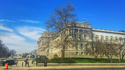 Library of Congress, taken by Mr. Lyman