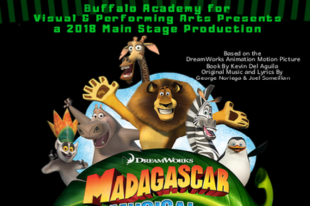 BAVPA Middle School Students Present MADAGASCAR Jr.