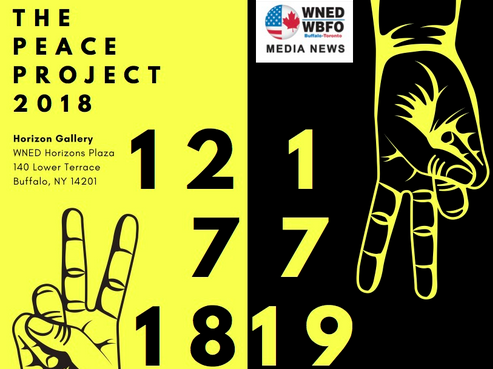 "WNED's Horizons Gallery Hosts Buffalo Public School's ""The Peace Project"""
