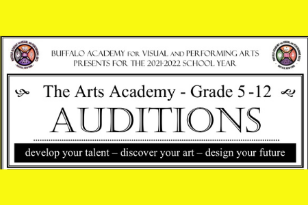 Auditions at BAVPA for 2021