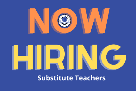 Apply now to become a substitute teacher!