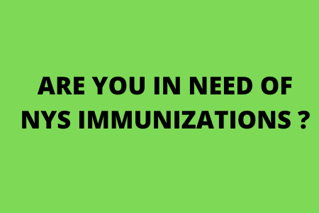 COVID 19 Vaccinations