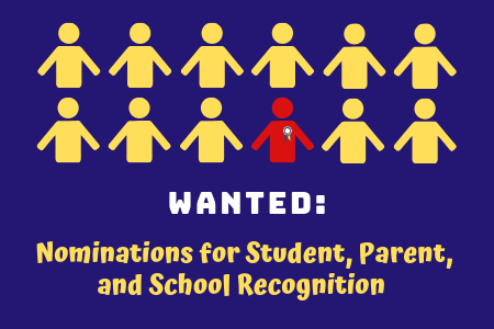 Parent Center seeking nominations