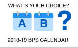 2018-2019 District Calendar Options are Ready for Review and Comment